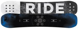 A solid snowboard made by Ride