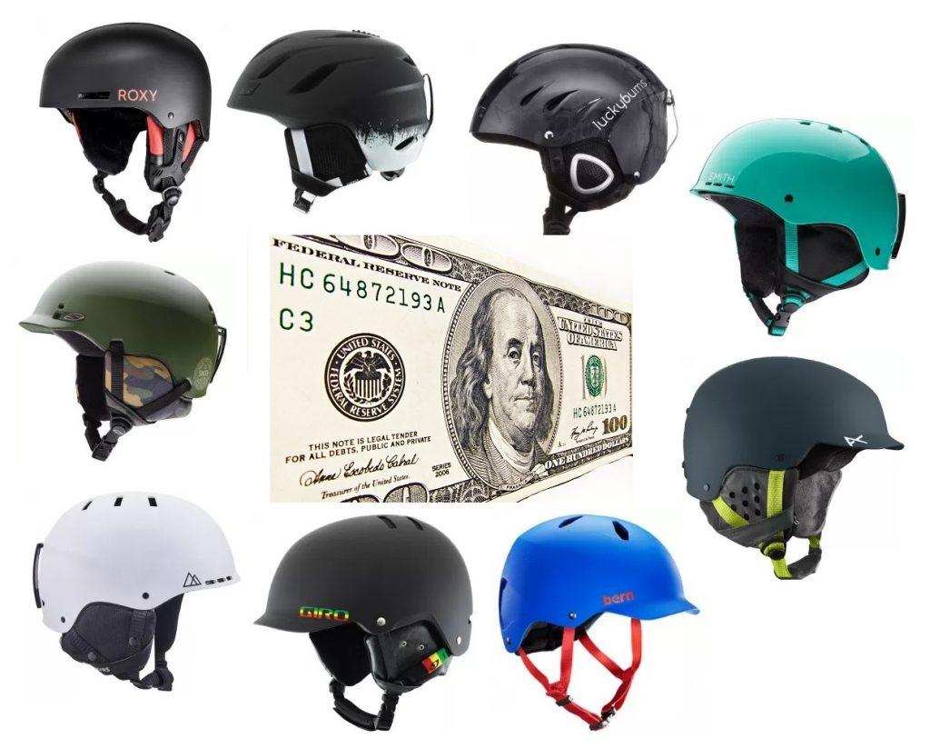 We review the best snow helmets under $100 bucks
