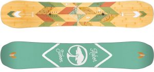 One of the best snowboards for women