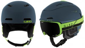 An awesome looking and feeling snow helmet here