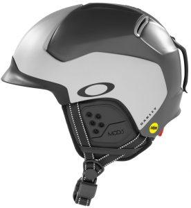 The matte grey version of the MOD5 snow helmet