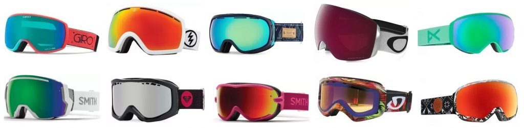 We highlight and review the top 10 best women's snow goggles
